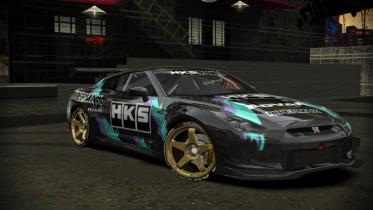 Nissan GT-R HKS