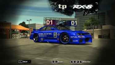 Nissan Skyline GTR R33 LM Calsonic
