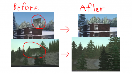 Bug fixed tracks Ver2.0 (e.g. upside-down trees)